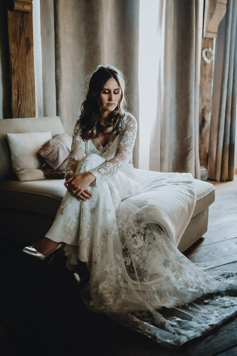 portraits de mariée par samantha guillon photographe de mariage en ile de france et sur paris