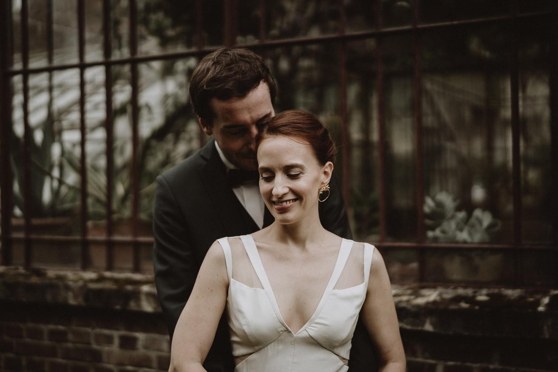 photos des mariés mariage automnal au domaine de verderonne par samantha guillon photographe