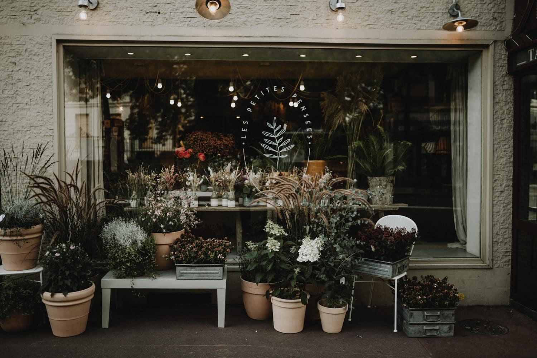 vitrine artisan fleuriste à sceaux par samantha guillon photographe à clamart