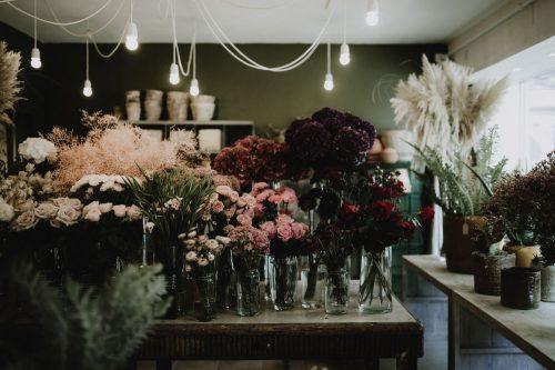 vitrine artisans fleuriste les petites pensées à sceaux par samantha guillon photographe à clamart