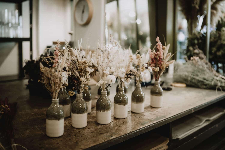 bouquets de fleurs séchées par samantha guillon photographe entreprise à clamart