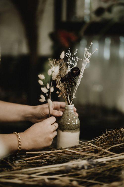 vitrine artisan fleuriste pour reportage sur-mesure artisanat par samantha guillon photographe entreprise à clamart